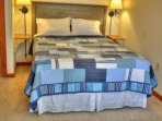UPPER LEVEL BR #3 with queen bed