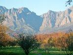 Hottentot Holland Mountain Range