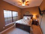 Queen bedroom 4 on main level