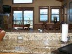 Granite countertops and open format kitchen
