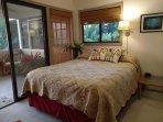 Comfortable queen-size bed