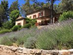 Typical lavender touch for this beautiful provencal country house