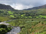 Caragh River near Glenbeigh on the Ring of Kerry Wild Atlantic Way Route.