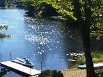 Lakefront w/ gas outdoor Fire Pit, kayaks & more!