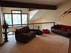 Loft with Queen Pull Out Sofa and TV