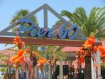 Lots of things to do at Pier 60 on clearwater beach.