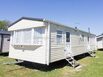 8 berth caravan for hire at Seashore Haven Holiday Park. Emerald rated.