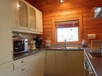 Hooting Lodge - fully integrated kitchen
