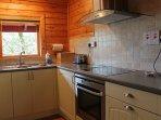 Hooting Lodge - AEG oven and ceramic hob