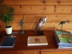 Hooting Lodge  - visitor and wildlife sighting book