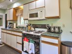 Prepare tasty home-cooked meals in the bright fully equipped kitchen.