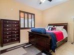 Bedroom #1. Queen bed