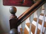 1850s staircase post