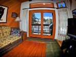 Living Room View of Mammoth Mountain