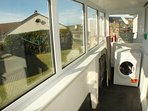 Even the boot/utility room has excellent views