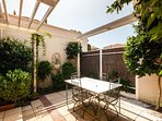 Courtyard perfect for summer!