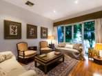 Large living spaces to unwind