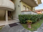 Fiorella 1 is in a residential area just 500 mt from the sea