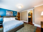 Bedroom suite 4 with private ensuite bath can sleep up to 4 comfortably.