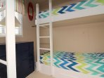 The Bunk Bedroom 1 Located on the 1st Leve