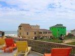 Balcony View From Beach Glass