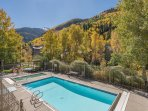 The Viking Lodge has a heated pool and hot tub (the pool is open summer and winter, closed April, May, Oct, Nov).