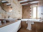 bathroom#1  with Hydromassage bathtub