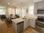 Open Kitchen and Dining Area!