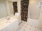 One of Three Guest Bathrooms