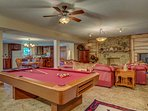 Challenge your friends to a game of pool during your stay!