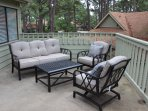 Chair, Furniture, Couch, Patio, Bench