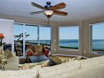 180 degrees of white water views crashing onto Mitchell's Cove directly in front of the Bayfront W. Cliff Condo!