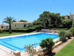 Elite Villa PASHA BAY in complex with swimming pool.