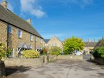 Perfectly located, close to the high street (through the arch!) yet in a quiet location.