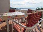 A1 Lijevi(2+1): terrace view