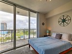 The condo features 2 spacious bedrooms, both equipped with cozy queen-sized beds.