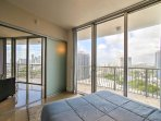 Floor-to-ceiling windows in the bedrooms ensure you're able to enjoy inspiring city views and spectacular sunsets from...