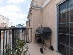 Balcony with BBQ Grill and View