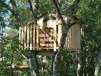 La cabane dans les arbres pour les plus courrageux