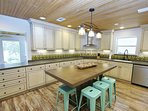 Kitchen has Plenty of Cabinets / Granite Counter