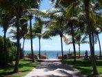 Acceso privado playa