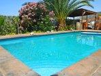 Casa En la Montaña con piscina y vistas a la Gomera en Tenerife Sur Piscina