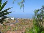 Loft En la Montaña con piscina y vistas a la Gomera en Tenerife Sur    Vistas al Mar