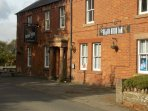 Local Pub serves excellent food and is just across the road.