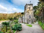 St Just Church, set in an incredible garden. A popular tourist spot and only 5 minutes walk away