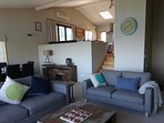 Split level open plan living