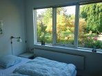 Beds with a view to the garden