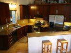 Fully Equipped Kitchen w/Granite Counter Tops and Stainless Appliances
