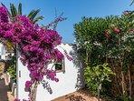 Casa Bonita Menorca: giardino e orto.