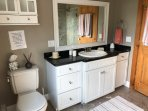Cove House master bathroom